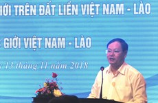 Conference talks realisation of Vietnam-Laos border treaties