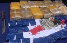 Son La: 12 bricks of heroin, 36,000 meth pills seized