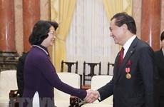 Vice President receives Japanese Kanagawa prefecture delegation