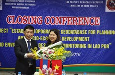 Vietnam helps Laos build topographic database