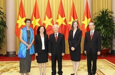 President Trong receives newly-accredited ambassadors