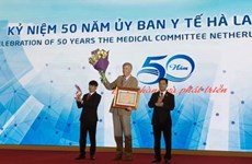 Medical Committee Netherlands-Vietnam marks 50th founding anniversary