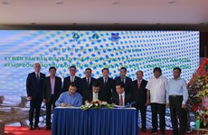An Phat, PVTEX introduce new product at Dinh Vu plant