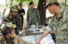 Cambodian PM won't allow any foreign military base in territory