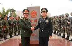 Vietnam-China border defence friendship exchange begins