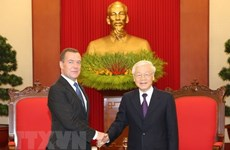 Russia a reliable partner of Vietnam: top leader