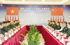Vietnam, China review five years of border defence friendship exchange