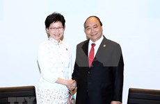PM Phuc meets with New Zealand, Hong Kong leaders on APEC sidelines