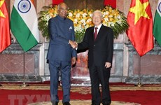 Party, State leader hails first visit by Indian President