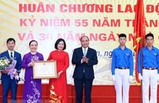 Prime Minister visits old school on Vietnam Teachers' Day