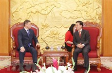Delegation of Kazakhstani Nur Otan party welcomed
