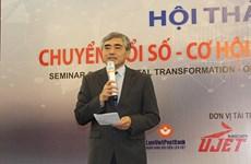 Digital transformation emphasised as urgent tasks