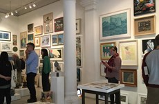 Vibrant contemporary artists join affordable art fair