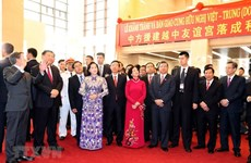 Vietnam-China Friendship Palace handed over after maintenance