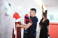 Vietnamese designer opens show in Malaysia