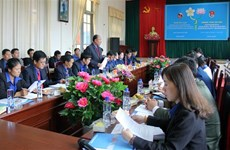 Son La youths bolster cooperation with Lao localities