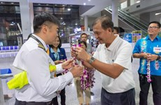 Southern Thai province welcomes inaugural flight from Kunming