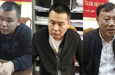 Three in int'l wanted list arrested in Quang Ninh