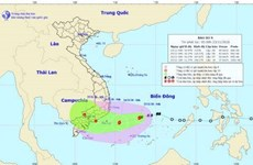 Typhoon Usagi heads to south central Vietnam