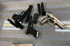 Plane passenger arrested for carrying firearms illegally