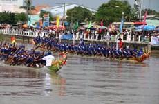 Khmer people in Tra Vinh celebrate Ok Om Bok Festival