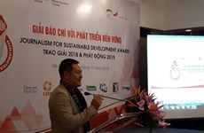 Journalism for sustainable development prizes awarded