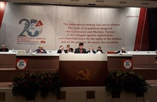 CPV delegation active at meeting of communist, workers' parties