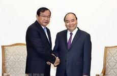 Prime Minister applauds development of Vietnam-Cambodia relations