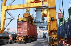 Seaports' freight volume continues upward trend