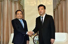 Vietnam Fatherland Front delegation visits China