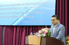 Vietnam promotes solidarity with Palestine