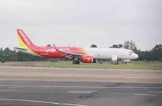 Vietjet flight encounters landing problem at Buon Ma Thuot airport