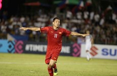 Vietnam beats Philippines 2-1 in AFF Cup semifinal first leg