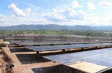 Mega-solar power plant rolls out in Gia Lai