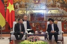 Leipzig delegation seeks investment opportunities in Hanoi