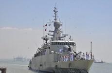Thai naval vessels dock in Phu Quoc