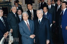 Japan honours late Vietnamese Party leader Do Muoi