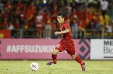 Vietnamese player in top five after semi-final first leg