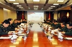 Vietnamese, Chinese armies boost political cooperation