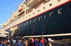 Ship for SEA and Japanese Youth Programme leaves for Japan