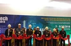 Contech Vietnam 2018 gathers top construction brands