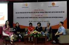 Workshop talks experiences in preventing sexual abuse against women, girls