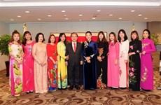 NA Chairwoman meets with Vietnam-RoK families in Busan
