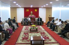 Delegation of Cambodian Ministry of Cults and Religion visits Binh Duong
