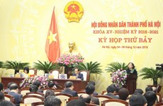 Hanoi People's Council conducts vote of confidence