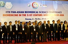 Fourth Pan-Asian Biomedical Science Conference opens