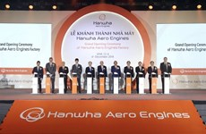 Hanwha aircraft engine parts factory inaugurated in Hanoi