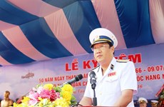 Delegation of Vietnam People's Navy visits India