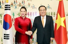 Parliament leader wraps up official visit to RoK