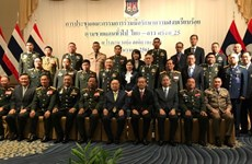 Thailand, Laos agree on border security